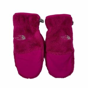 The North Face Pink Denali Fleece Thermal Mittens